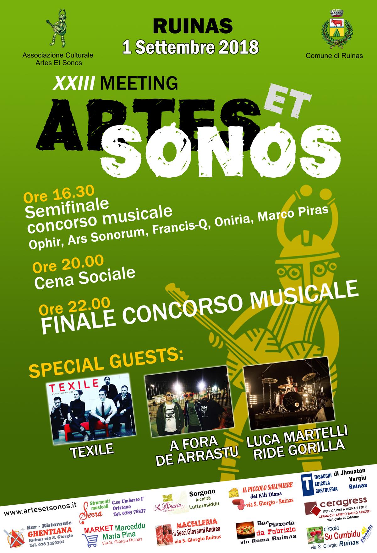 XXIII Meeting Artes et Sonos