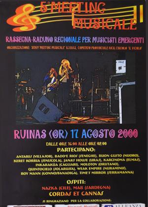 V Edizione - 2000